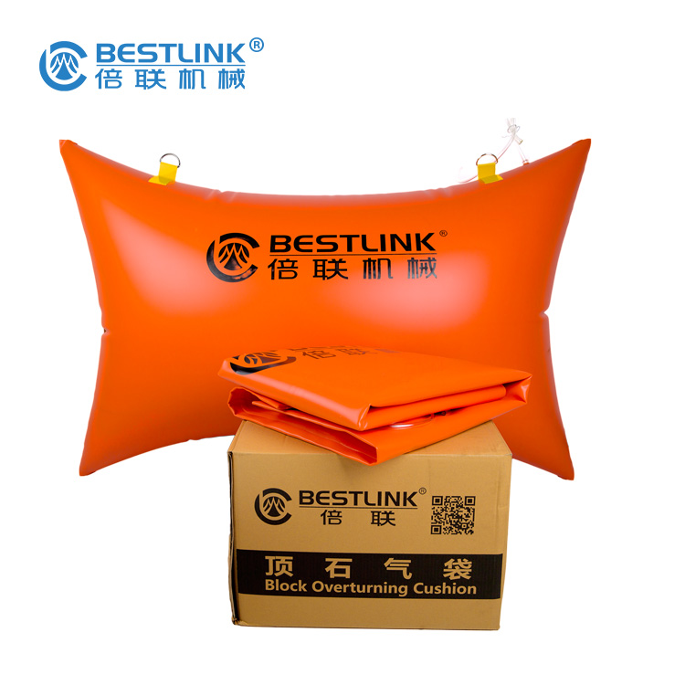 Bestlink Granite Air Push Bag Block Pushing Attachment for Marble Quarries