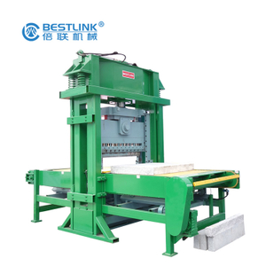 Bestlink Factory Hydraulic Mining Granite Block Open Frame Stone Cutting Machine