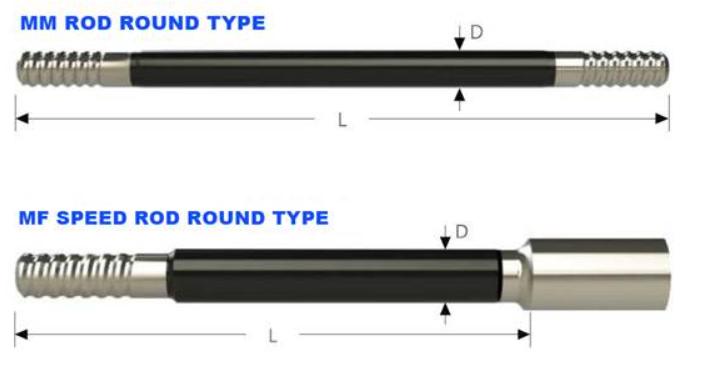 extension drill rod