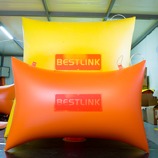 Reinforced High Pressure Polymer Pushing Air Bag Cushion for Wire Saw Stone Quarrying